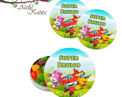 Latinha Personalizada Super Wings