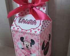 Caixa milk simples Minnie Rosa