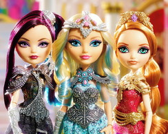 Painel Festa 2x1M Ever After High