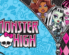 Painel Monster High 1,20 x 1,00m