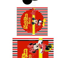 Arte Digital Mickey e Minnie