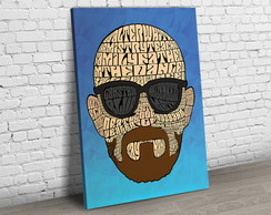 Quadro Breaking Bad Heisenberg Pop T164