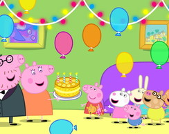 Painel Peppa Pig 2,00 x 1,00m