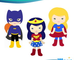 Kit Painel DC Super Hero Girls
