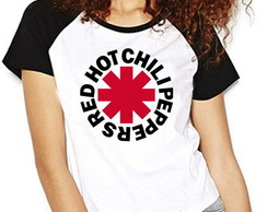 Camiseta Red Hot Chili Peppers Raglan