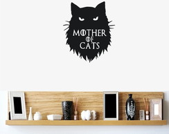 Adesivo Mother of Cats Game of Thrones