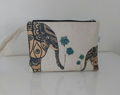 Clutch Elefante BLUE Flower