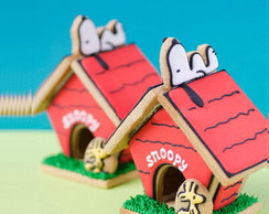 Cortador Biscoito Kit Casinha Do Snoopy