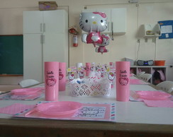 Festa na escola hello kitty