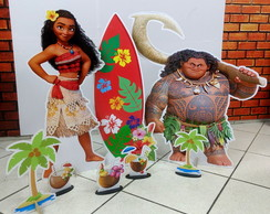 Kit Totem Displays Moana de Chão e Mesa