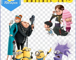 Kit Minions PNG 118 Imagens