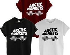 Camiseta Arctic Monkeys 1 unidade