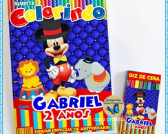Kit colorir Mickey Magico