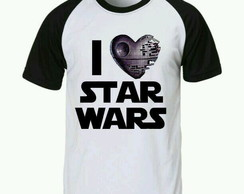 Camiseta Star Wars raglan