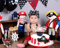 Conjunto Smash The Cake Piratas