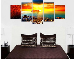 Quadro Beach Crazy Sunset - QCMA0031