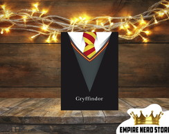 Quadro Placa Decorativo MDF Gryffindor