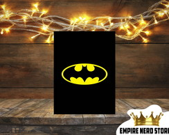 Quadro Placa Decorativo MDF Batman