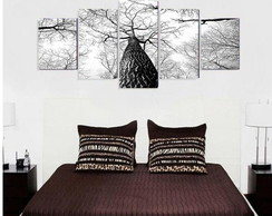 Quadro Black White Tree (2) - QCMA0052