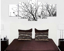 Quadro Black White Tree (3) - QCMA0053