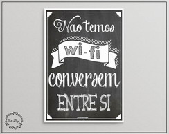 Poster Wifi - A3
