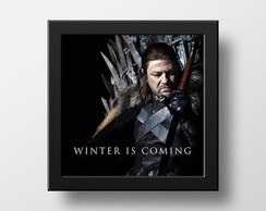 Quadro Poster Game of Thrones Winter is Coming