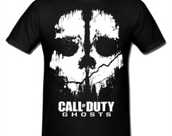 Camiseta Call of Duty Ghosts Cod