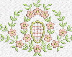 Patch Bordado Floral02