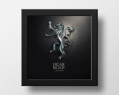 Quadro Game of Thrones Lannister's