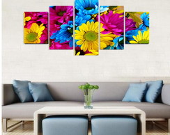 Quadro Colorful Flowers - QCMA0103