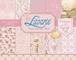 Scrap Bloco Decor SBD-001 Litoarte