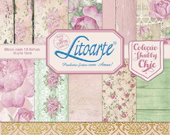 Scrap Bloco Decor SBD-005 Litoarte