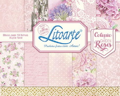Scrap Bloco Decor SBD-006 Litoarte