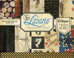 Scrap Bloco Decor SBD-007 Litoarte
