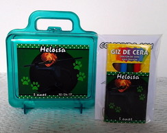 Maletinha Cat Noir com Kit Colorir