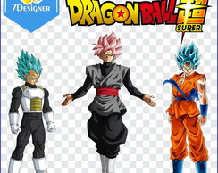 Kit Dragon Ball Super (Painel, Banner)