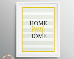 Poster digital - home sweet home