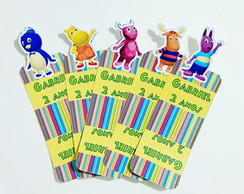 Porta Chocolate duplo tema Backyardigans