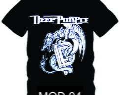 Camiseta Banda Deep Purple