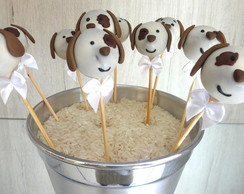 Cake Pop Cachorrinho
