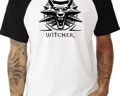 Camiseta Raglan The Witcher #2 Lobo