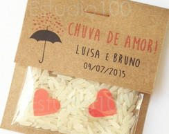 Mini Chuva de Arroz - Rustico