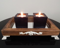 Kit Velas Quadradas