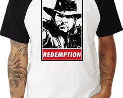 Camiseta Raglan Red Dead Redemption #1