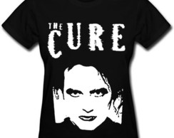Camiseta feminina baby look The Cure new order dark goticos