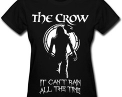 Camiseta feminina The Crow O Corvo goticos rock eric draven