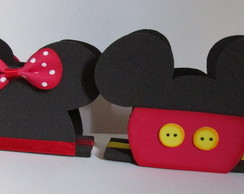 Porta Guardanapos Mickey e Minnie