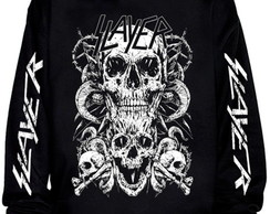 Blusa moletom Slayer - Caveira