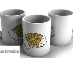 Caneca Porcelana Green Day
