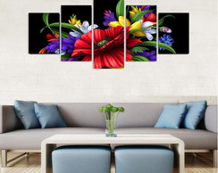 Quadro Flowers Color - QCMA0174